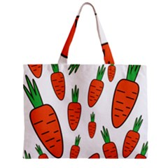 Fruit Vegetable Carrots Zipper Mini Tote Bag