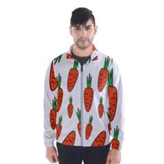 Fruit Vegetable Carrots Wind Breaker (men)