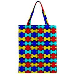 Game Puzzle Zipper Classic Tote Bag