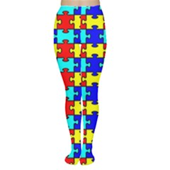 Game Puzzle Women s Tights
