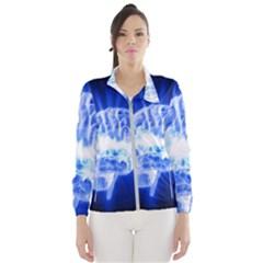 Lightning Brain Blue Wind Breaker (women)