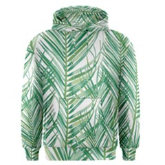 Jungle Fever Green Leaves Men s Pullover Hoodie