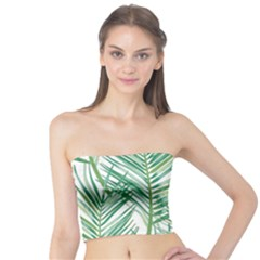 Jungle Fever Green Leaves Tube Top
