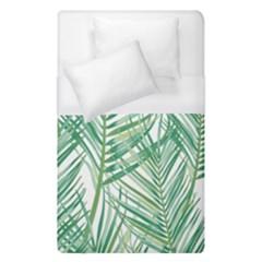 Jungle Fever Green Leaves Duvet Cover (single Size)