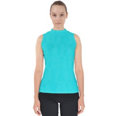 Line Blue Shell Top