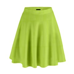 Line Green High Waist Skirt