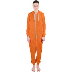 Line Orange Hooded Jumpsuit (ladies)