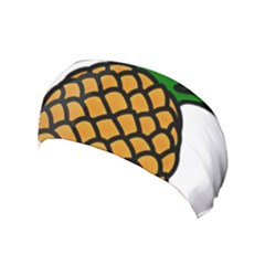 Pineapple Fruite Yellow Green Orange Yoga Headband