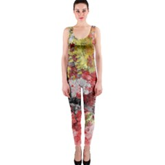 Garden Abstract Onepiece Catsuit