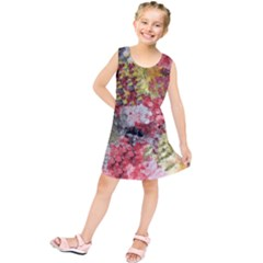 Garden Abstract Kids  Tunic Dress