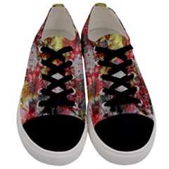 Garden Abstract Men s Low Top Canvas Sneakers