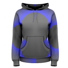 Pure Energy Black Blue Hole Space Galaxy Women s Pullover Hoodie