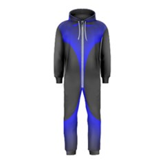 Pure Energy Black Blue Hole Space Galaxy Hooded Jumpsuit (kids)
