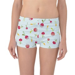 Root Vegetables Pattern Carrots Boyleg Bikini Bottoms