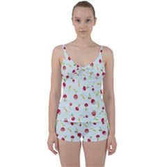 Root Vegetables Pattern Carrots Tie Front Two Piece Tankini