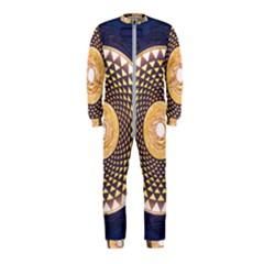 Sahasrara Blue Onepiece Jumpsuit (kids)