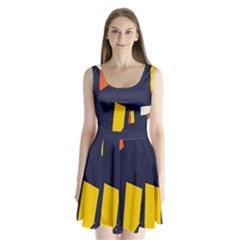 Slider Explore Further Split Back Mini Dress