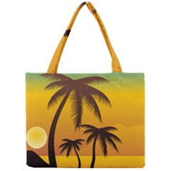 Sunset Summer Mini Tote Bag