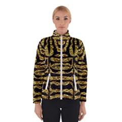 Skin2 Black Marble & Gold Foil (r) Winterwear