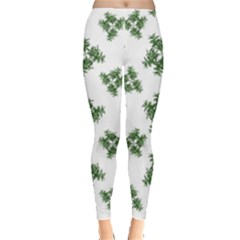 Nature Motif Pattern Design Leggings