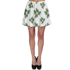 Nature Motif Pattern Design Skater Skirt