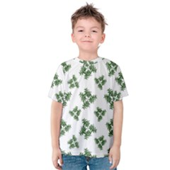 Nature Motif Pattern Design Kids  Cotton Tee
