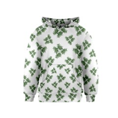 Nature Motif Pattern Design Kids  Pullover Hoodie