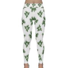 Nature Motif Pattern Design Classic Yoga Leggings