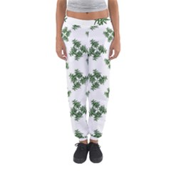 Nature Motif Pattern Design Women s Jogger Sweatpants