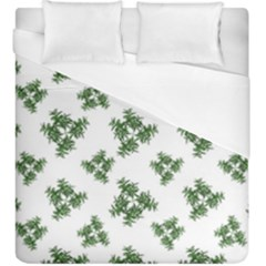 Nature Motif Pattern Design Duvet Cover (king Size)