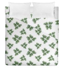 Nature Motif Pattern Design Duvet Cover Double Side (queen Size)