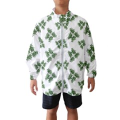 Nature Motif Pattern Design Wind Breaker (kids)