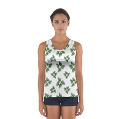 Nature Motif Pattern Design Sport Tank Top