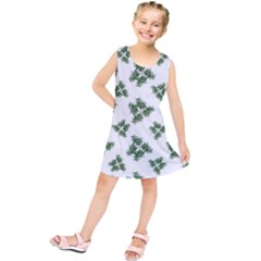Nature Motif Pattern Design Kids  Tunic Dress