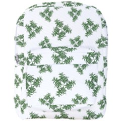 Nature Motif Pattern Design Full Print Backpack