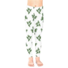 Nature Motif Pattern Design Kids  Legging