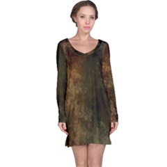 Marbled Structure 4a Long Sleeve Nightdress