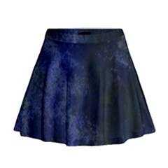 Marbled Structure 4b Mini Flare Skirt