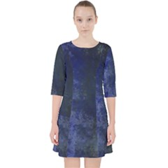 Marbled Structure 4b Pocket Dress