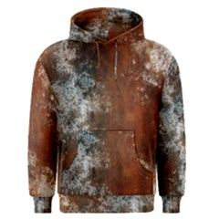 Marbled Structure 4c Men s Pullover Hoodie