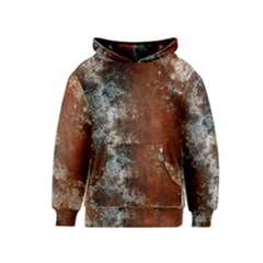 Marbled Structure 4c Kids  Pullover Hoodie