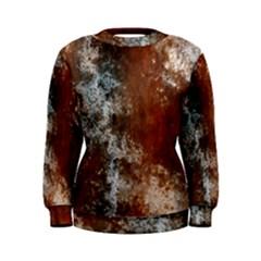 Marbled Structure 4c Women s Sweatshirt