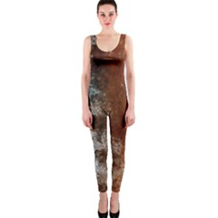 Marbled Structure 4c Onepiece Catsuit