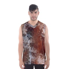 Marbled Structure 4c Men s Basketball Tank Top