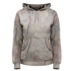 Marbled Structure 5a Women s Pullover Hoodie