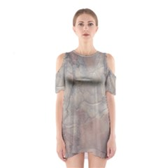 Marbled Structure 5a Shoulder Cutout One Piece