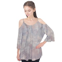 Marbled Structure 5a Flutter Tees