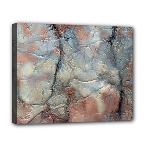 Marbled Structure 5a2 Deluxe Canvas 20  X 16
