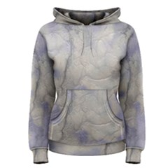 Marbled Structure 5b Women s Pullover Hoodie