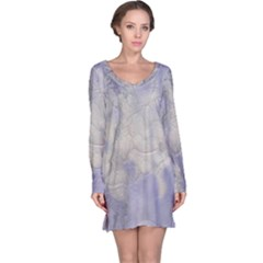 Marbled Structure 5b Long Sleeve Nightdress